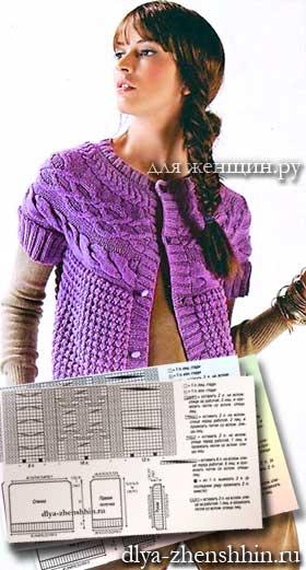 Модные модели вязания для женщин