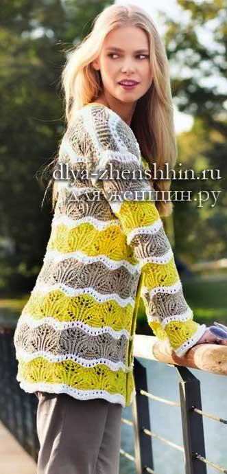для женщин модные модели вязания