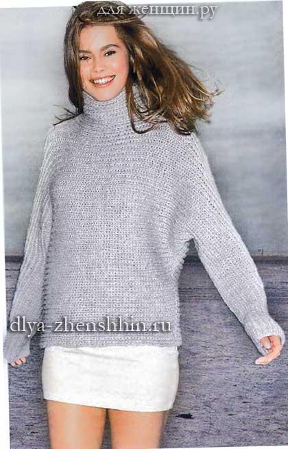 вязание для женщин свитера спицами